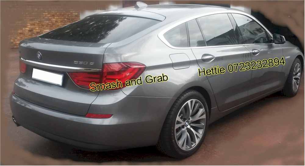 Smash and Grab Suntinco - BMW520