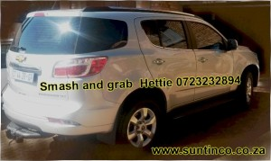 Smash and Grab Suntinco Fortuner.